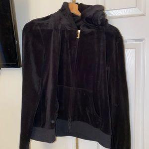Women's medium velour juicy couture hoodie